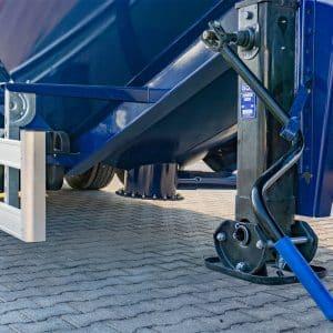 Unloading-Vibration-Valves-Cement-Transporter-Trailer